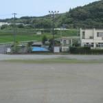 グラウンド側駐車場